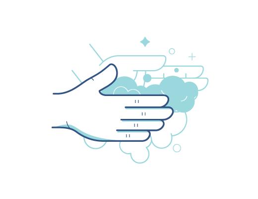 Lavarse las manos antes de manejar los lentes de contacto