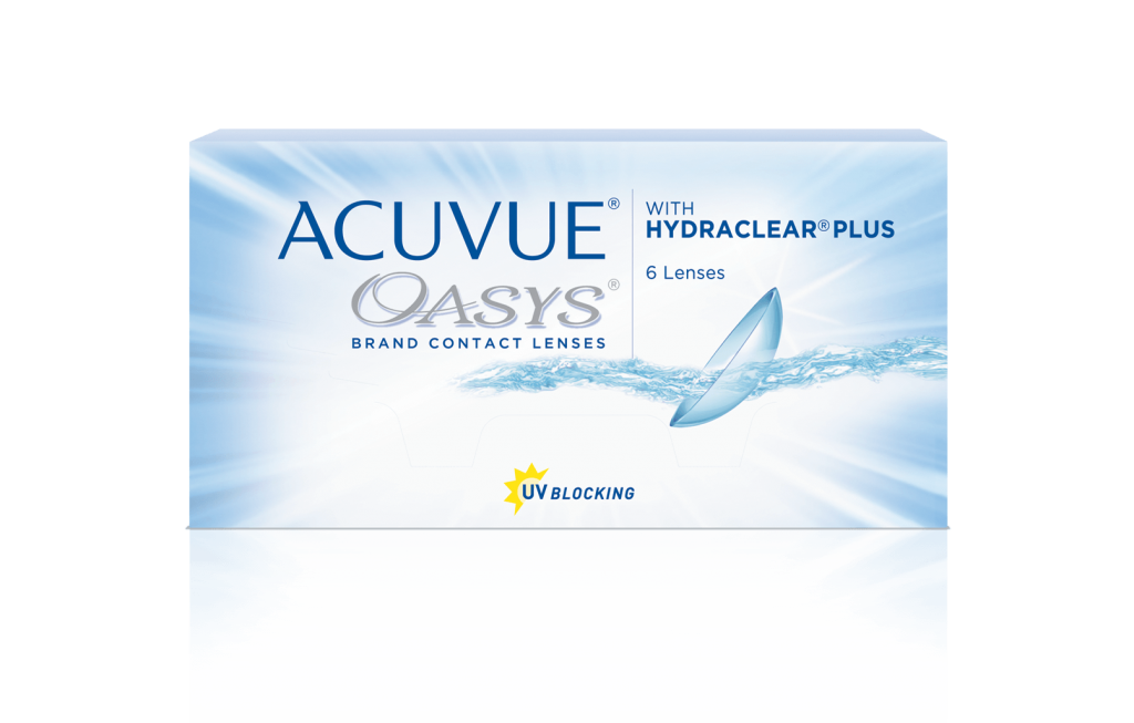 ACUVUE® OASYS® 2 SEMANAS con HYDRACLEAR® PLUS